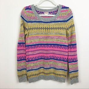 Mossmio Multi Color Print Sweater